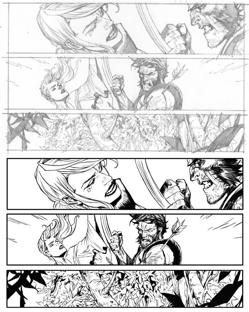 Ink, Secret Wars 2, pg 17 by Narumitsumi