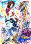 Yuna Watercolor by IdNiDveifencetum