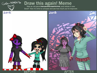 Draw this again Meme #2 by Goth-Kath
