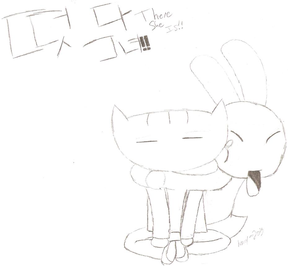 There She Is!! Doki And Nabi Sketch By Nany-Pony On DeviantArt