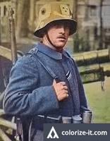 Freikorps soldier 1919 (Restored i guess?)