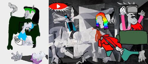 Guernica-MewMewMei Parody i think
