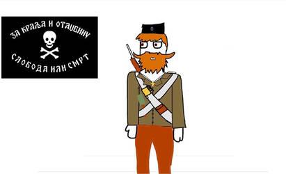 Chetnik Sketch (1942-1946  1992-Present Day)