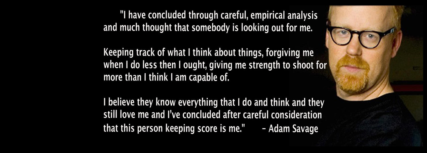 adam mythbusters quotes