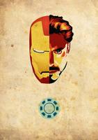 iron man . tony stark by msmichellec