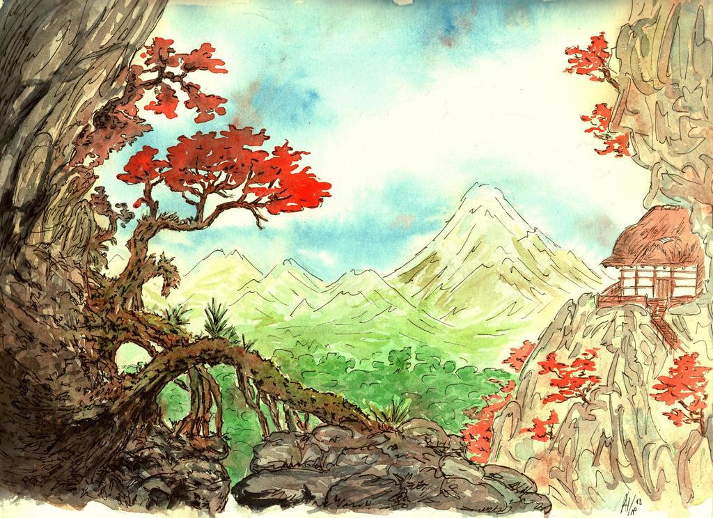 Japan Background By Jalipuchi On Deviantart