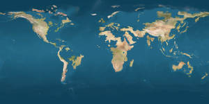 Map Earth 2100