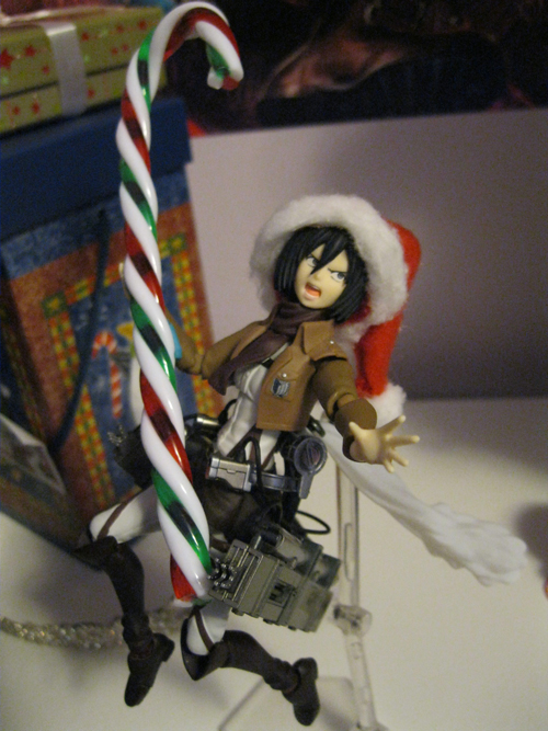 Ready for those Christmas Titans. by LittlestMonster