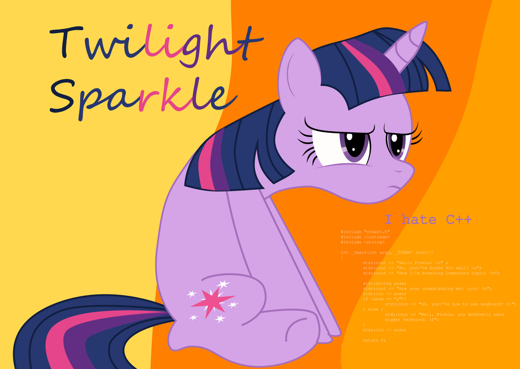 Twilight hates C++ ([Very fast] Speed...Vector) by scadl