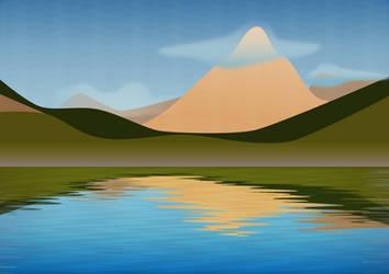 Glacier Peaks by scadl