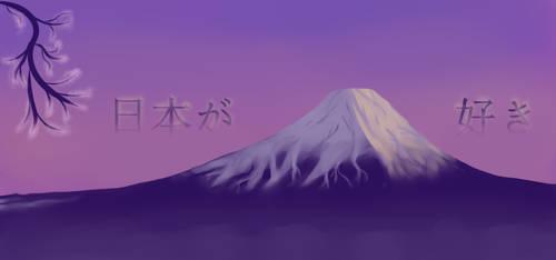 Mornng at Fuji