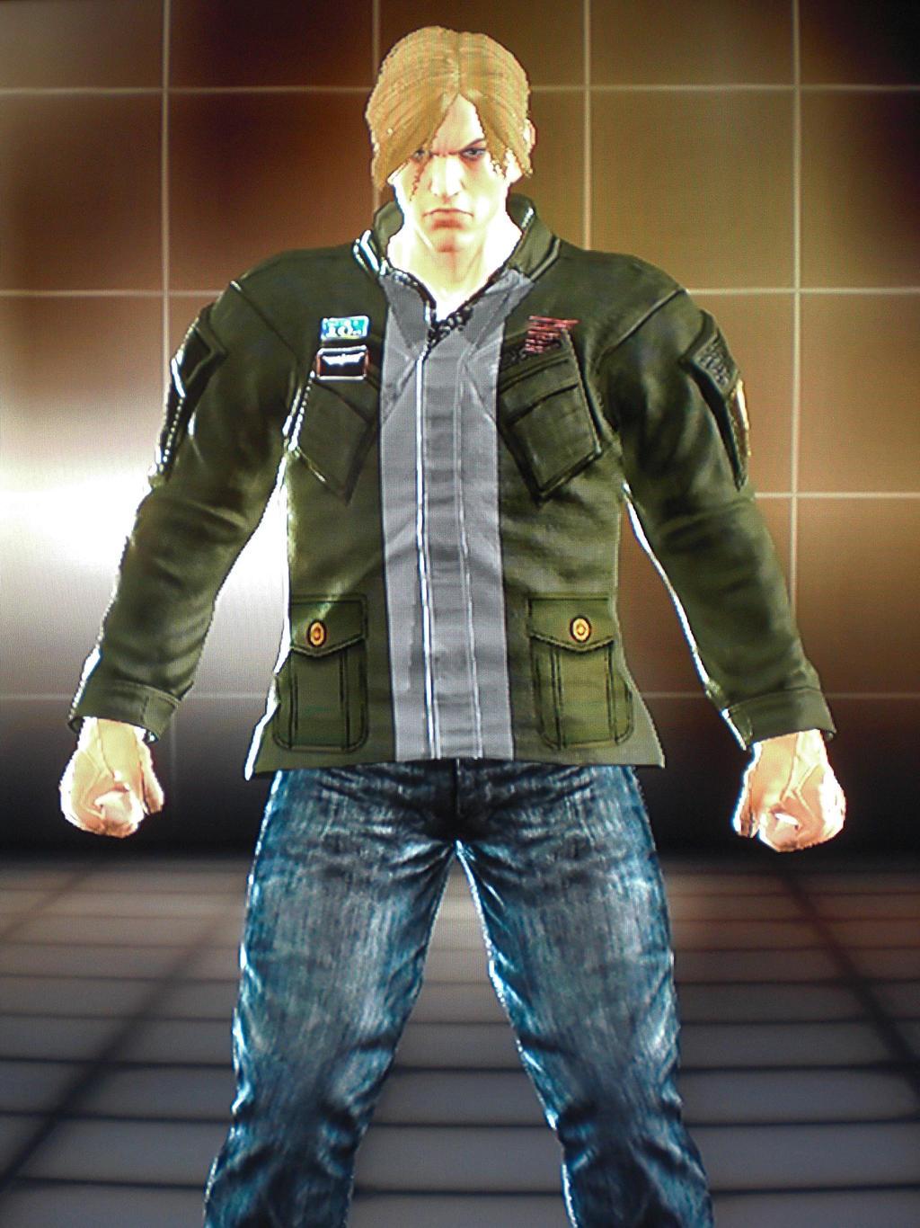 Tekken Tt2 James Sunderland Silent Hill 2 By Potetprofet On