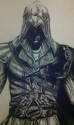 Ezio- close up by AKI355