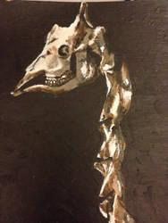giraffe skeleton details 2 by AKI355