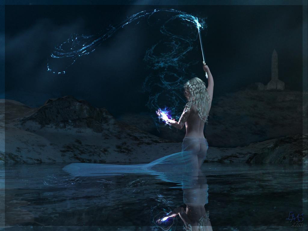 Description des Lieux et monstres présents Lady_of_the_lake_by_dylazuna-d3fysvi