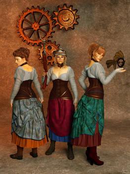Steampunkettes