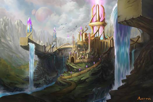 Minastera, City of Earth and Stars