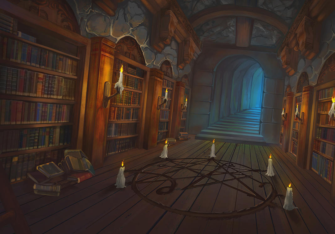 The Library by NolanNasser