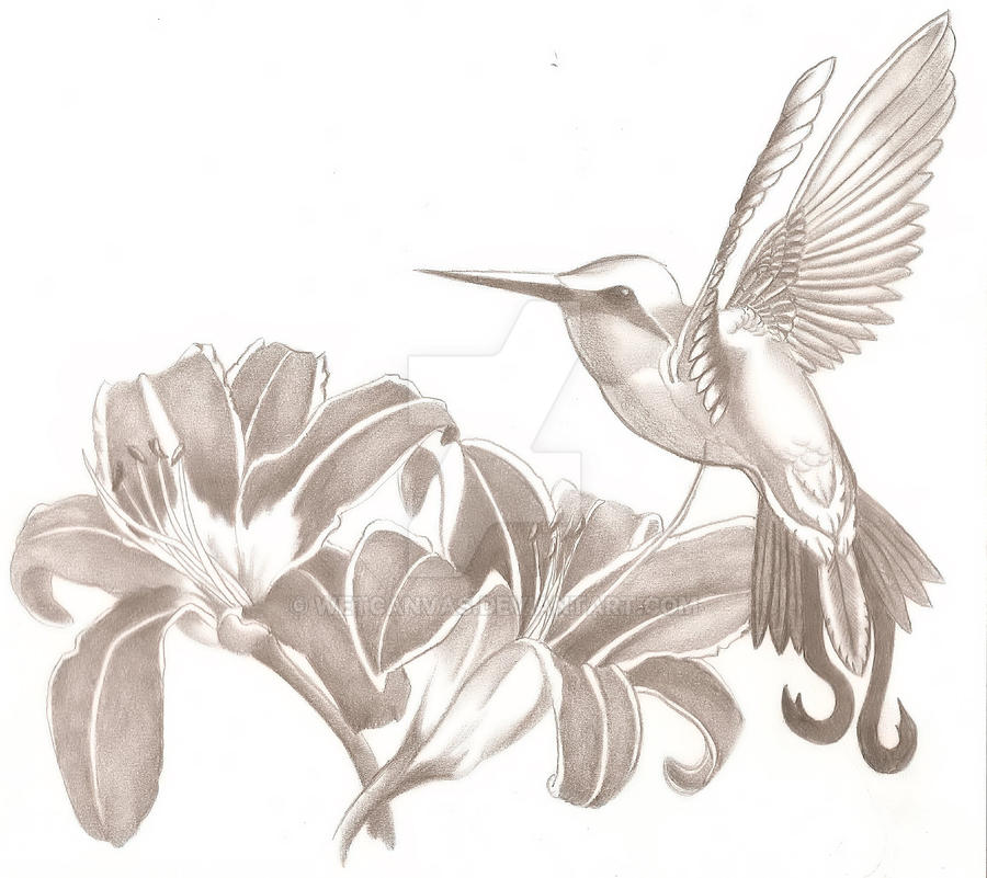Hummingbird Tattoo 1 by wetcanvas