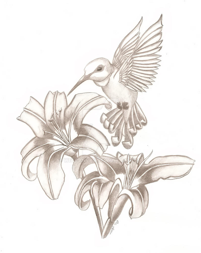 Hummingbird Tattoo 2 by wetcanvas