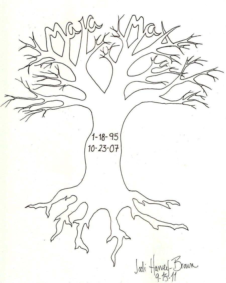Max-Maia Tattoo Tree by wetcanvas