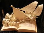 Sinbad's Ship Book Sculpture