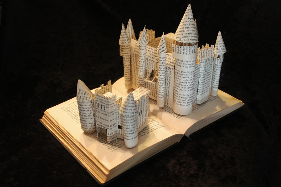 The Kingdom Within Book Sculpture
