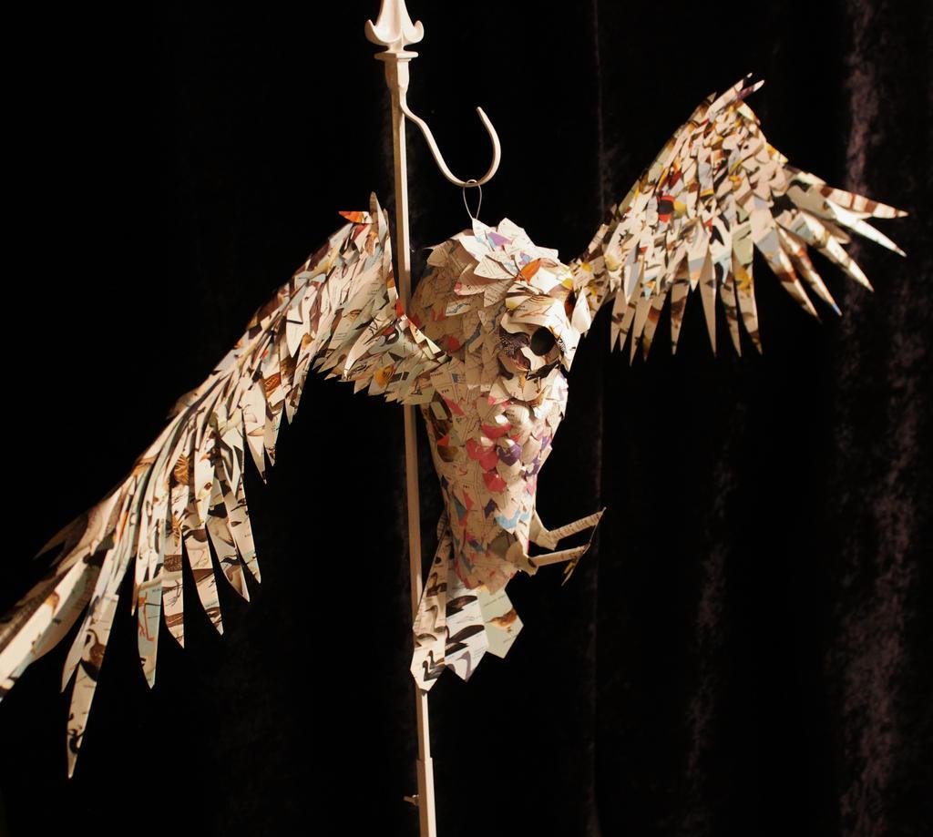 Owl Book Sculpture by wetcanvas