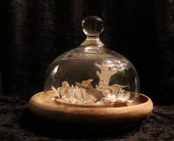 Follow That Rabbit Miniature Book Sculpture by wetcanvas