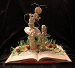 Who Are You? Book Sculpture