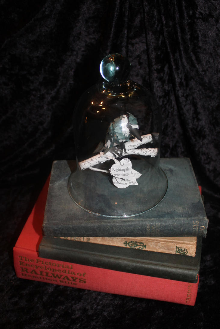 Nightingale Bell Jar by wetcanvas