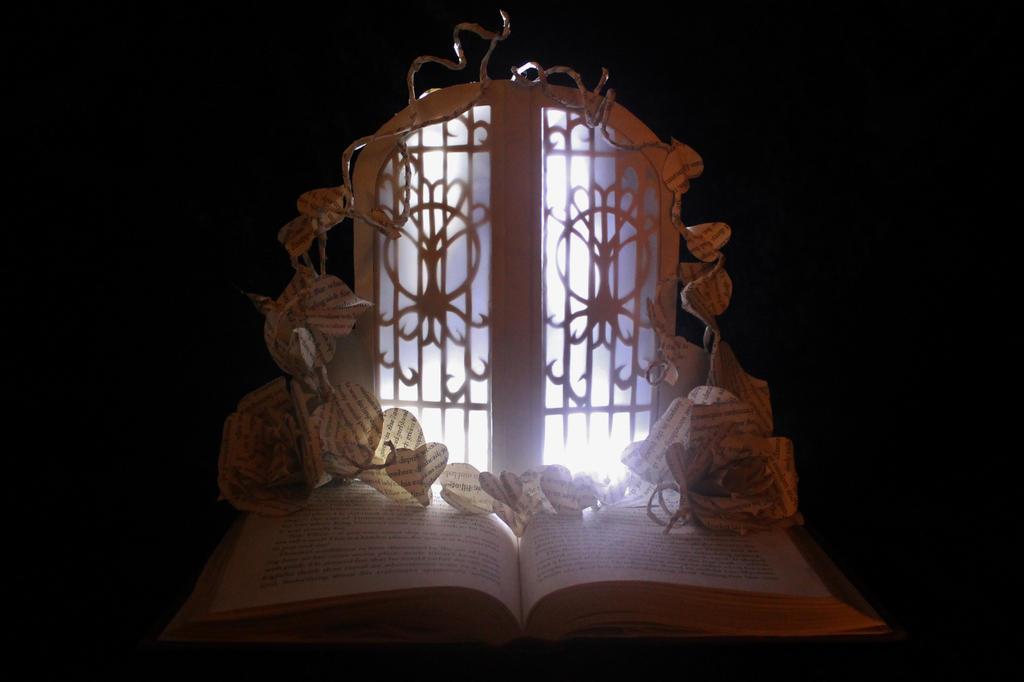 The fairie door book sculpture by wetcanvas on deviantart for The faerie door