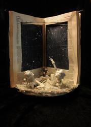 Constellation Book Sculpture by wetcanvas