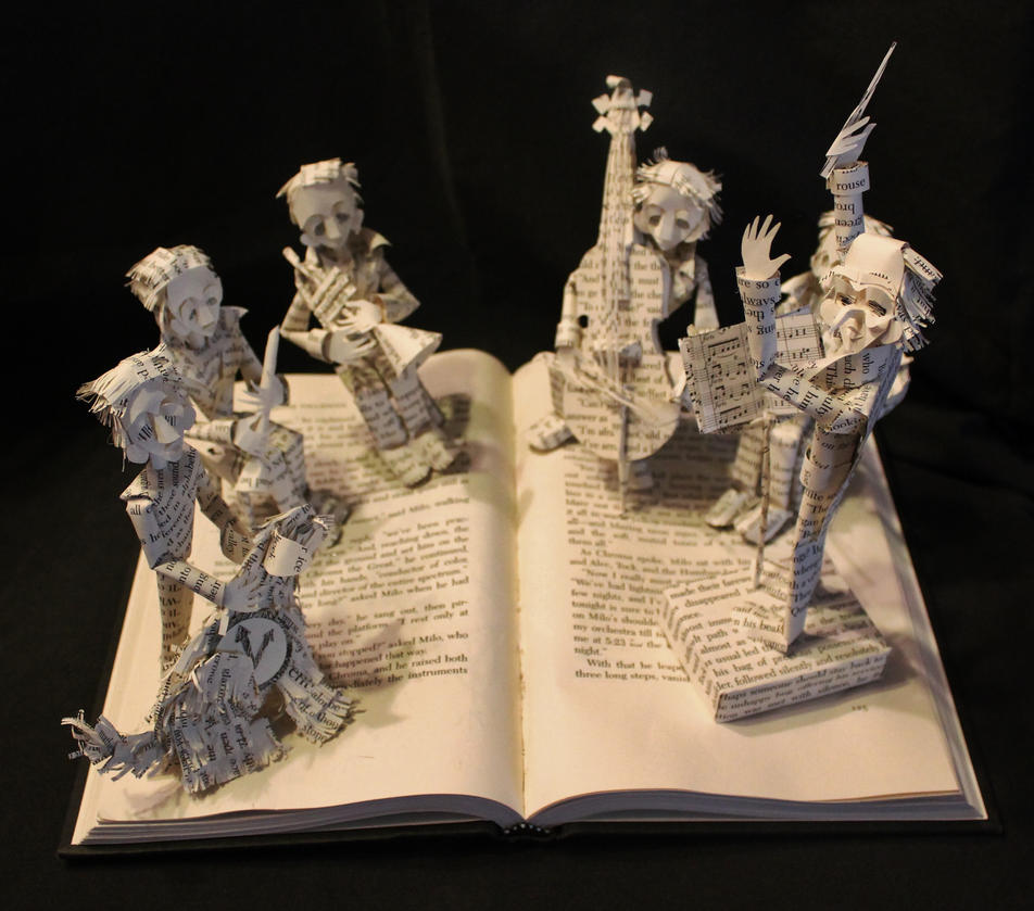 Chroma The Great Book Sculpture By Wetcanvas On DeviantArt
