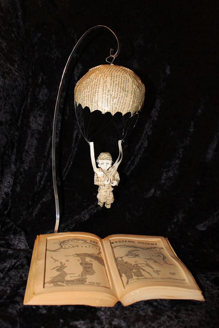 Eastern Approaches Book Sculpture by wetcanvas