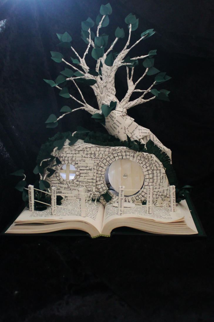 Bilbo Baggins' Book Sculpture by wetcanvas