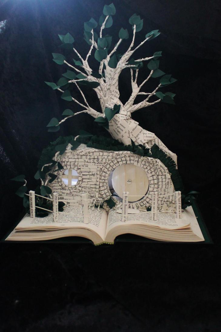 Bilbo Baggins' Book Sculpture by wetcanvas