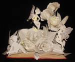 Fairy Garden Book Sculpture