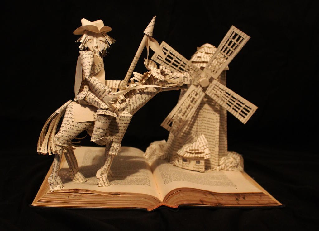 Don Quixote by wetcanvas