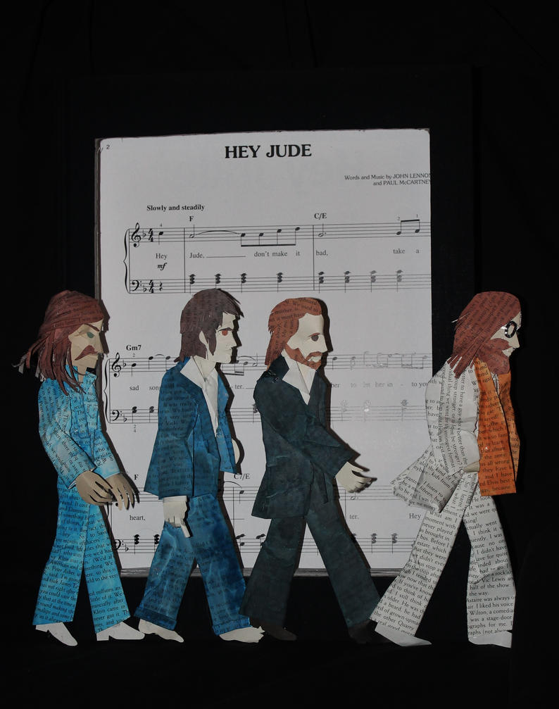 The Beatles by wetcanvas