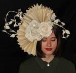 Diana Book Sculpture Headpiece