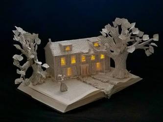 Sense and Sensibility Book Sculpture