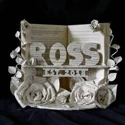 Wedding Book Sculpture