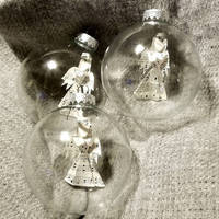 Hymnal Angel Ornaments