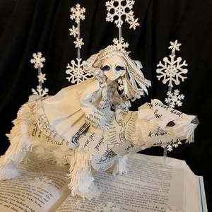 Golden Compass Book Sculpture