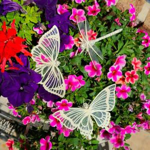 Butterfly Paper Sculpture