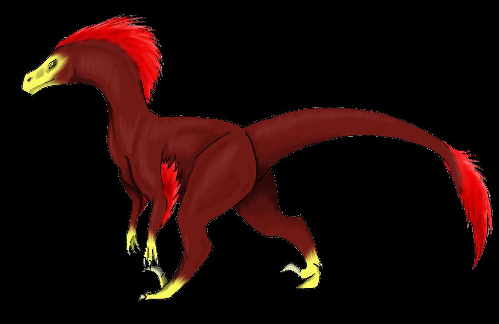 Happy Birthday Pyroraptor! by FlameFatalis