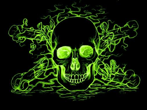 Toxic Skull By Thekslayer On DeviantArt
