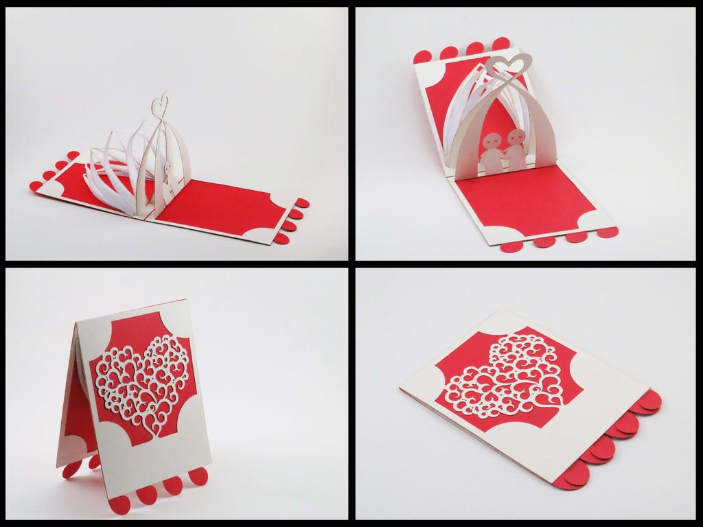 Valentines Day Popup Card by Philaholic on DeviantArt – Valentine Card Pop Up