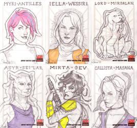 SWG:5 Sketch Cards